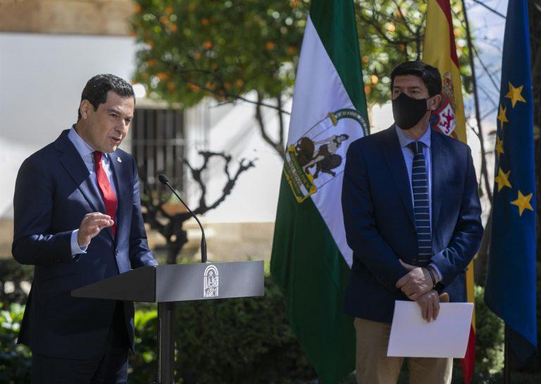 Marín descarta «totalmente» la coalición PP-Ciudadanos que propone Moreno y aboga por ir cada uno «con sus proyectos»