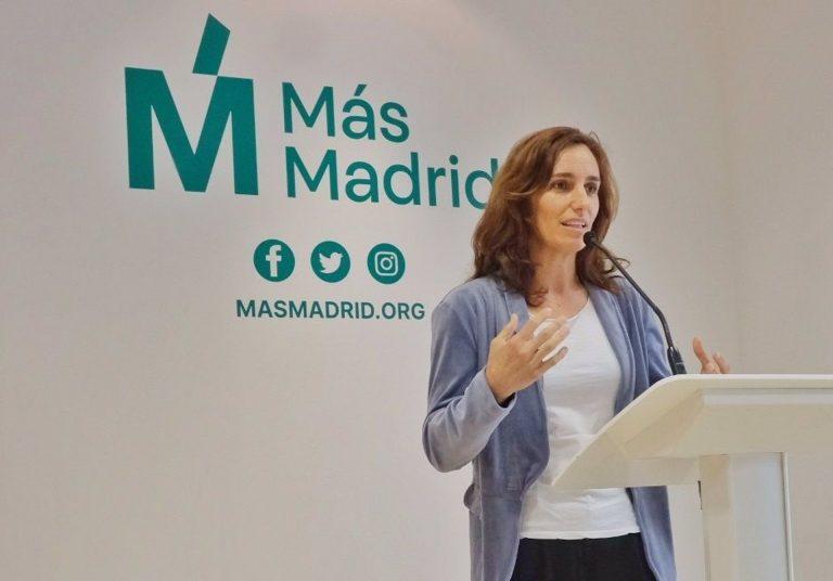 Mónica García lamenta que las fiestas ilegales sean ya «marca de la casa de la Comunidad»