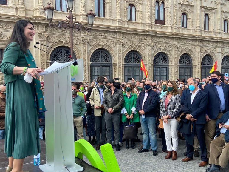 Olona no descarta ser la candidata de Vox a las elecciones andaluzas