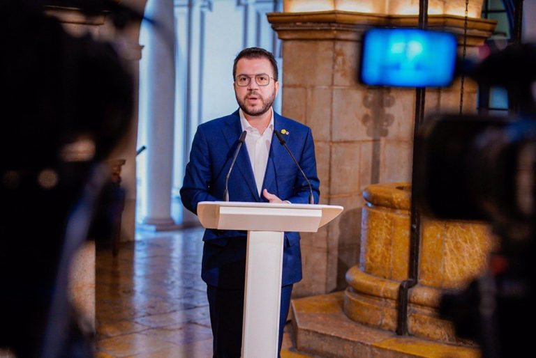 Aragonès confía en un pacto cercano para formar el próximo Govern