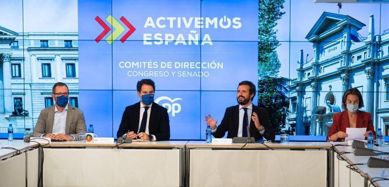 El PP decide centralizar en Génova las aportaciones mensuales de diputados y senadores al partido