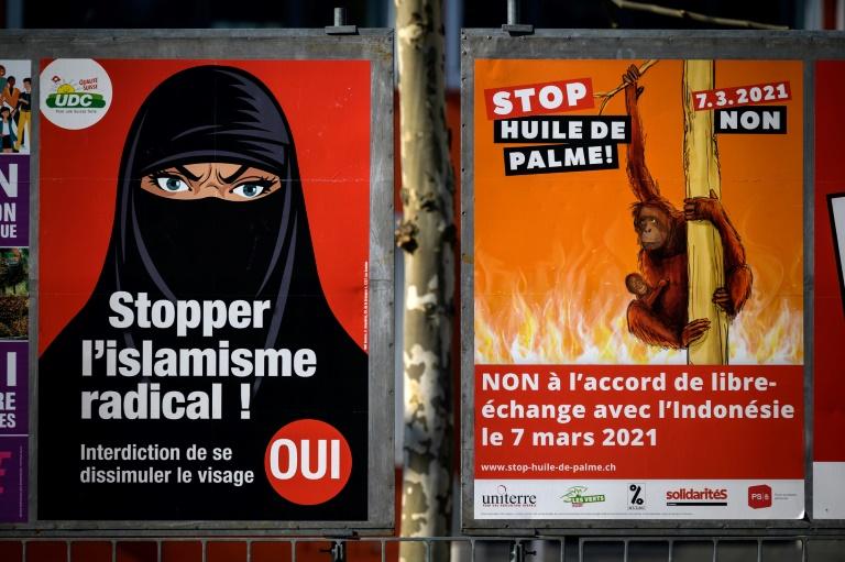 Suiza votará mañana si prohibe el burka. Los sondeos apuntan a ello, los musulmanes tachan la iniciativa de 'islamofobia'