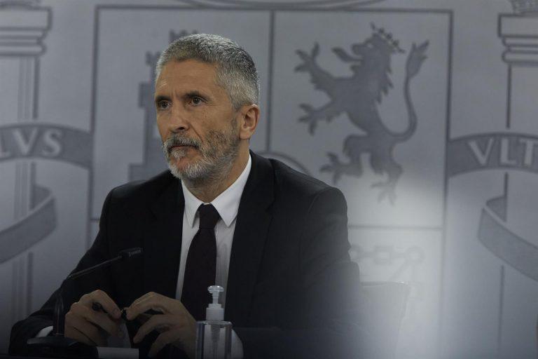 Vox registra una querella contra Marlaska en el Supremo tras la anulación del cese de Pérez de los Cobos