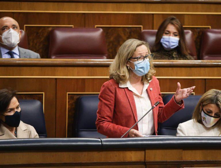 Calviño dice que las autoridades europeas valoran «muy positivamente» el Plan de Recuperación español