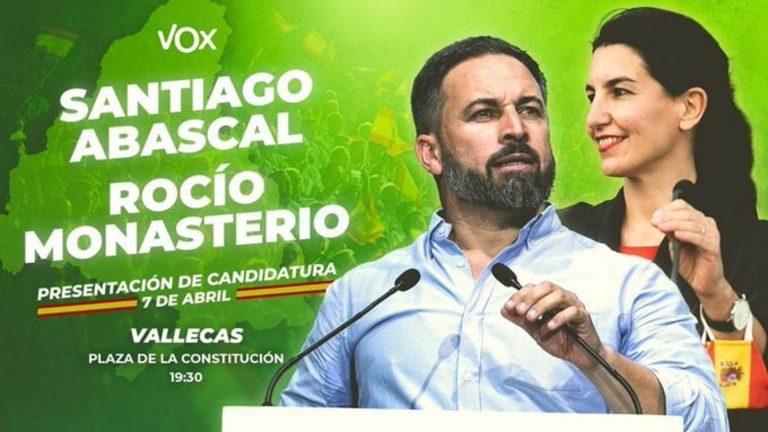 Vox presenta su campaña en Vallecas y las redes llaman al boicot