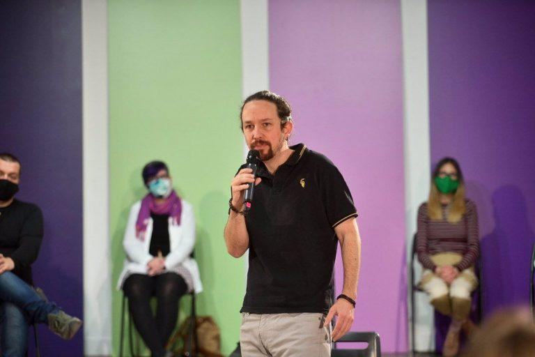 UP acusa a Abascal de haber provocado una carga policial en Vallecas