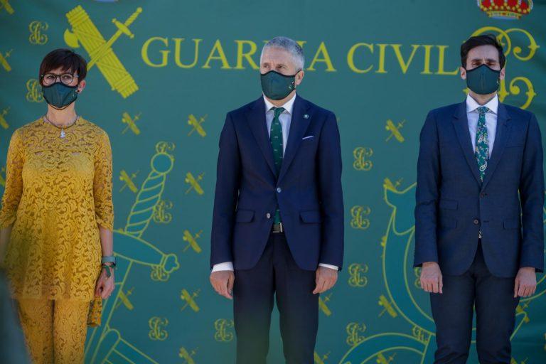Marlaska, Pablo Iglesias y la directora de la Guardia Civil reciben una carta amenazante con balas en su interior