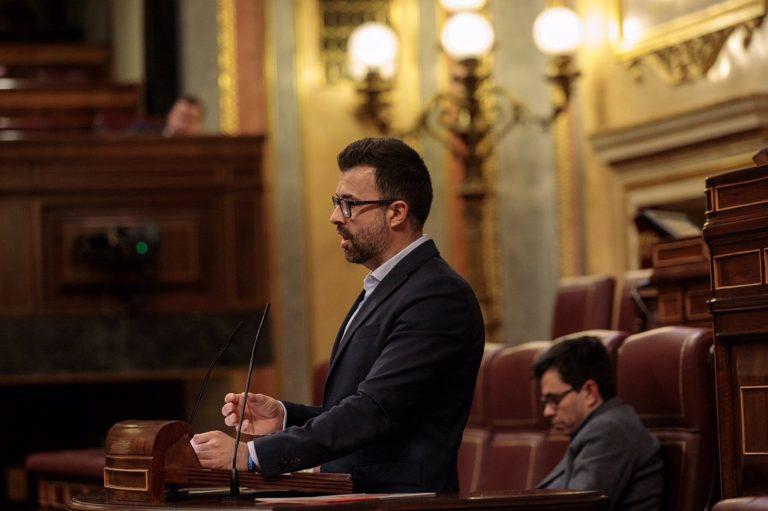 El diputado que dejó Ciudadanos pide más presencia en el Grupo Mixto y no descarta pedir amparo a Batet o a la Justicia