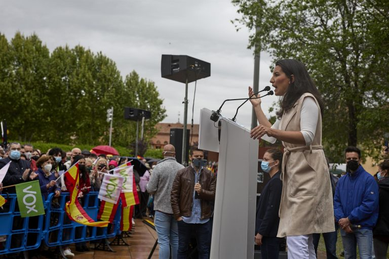 """Monasterio dice que hay una """"doble vara de medir"""" en las condenas de amenazas a partidos"""