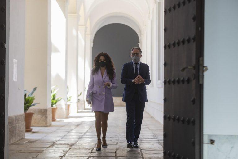 """El Gobierno de Andalucía """"se opone frontalmente"""" a la subida fiscal del Gobierno y defiende que bajando impuestos se recauda más"""