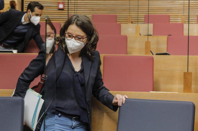 """Oltra sobre las críticas de Ayuso: """"La sobreexposición de informaciones de la Comunidad de Madrid comienza a enervarme"""""""