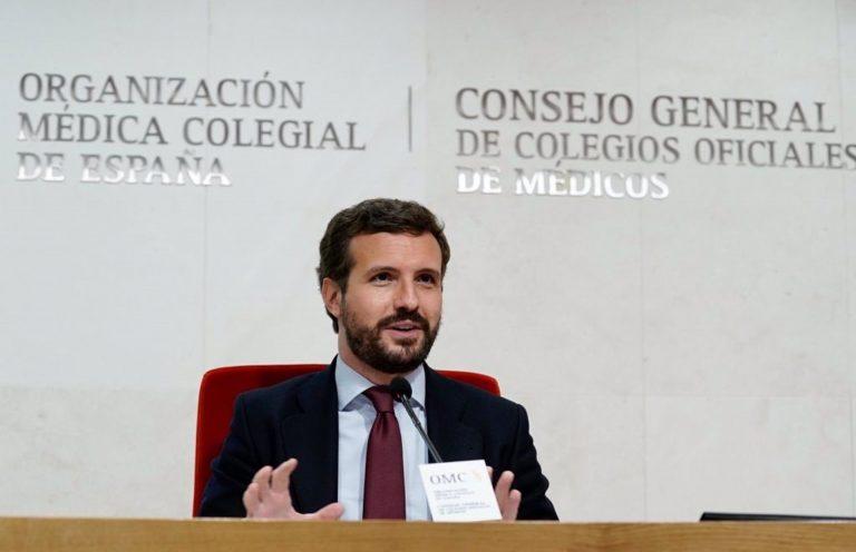 Casado cree que Podemos «justifica y alienta» los ataques contra Vox de Vallecas