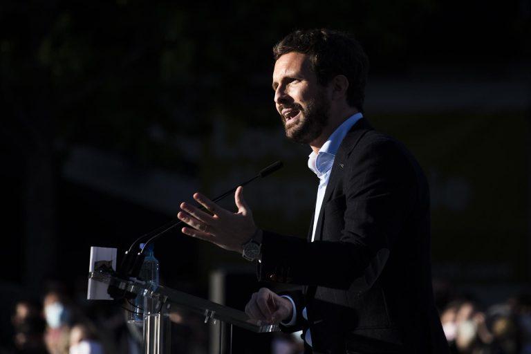 Casado dice que hasta los socios de Sánchez «piden un plan b alternativo al estado de alarma»