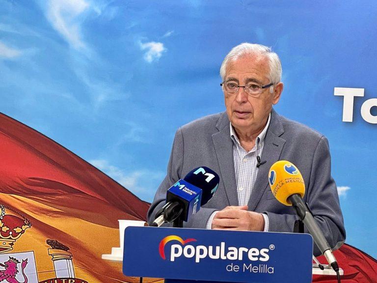 El PP de Melilla pide cumplir el pacto antitransfuguismo y que el presidente de Castro dimita tras su expulsión por Cs