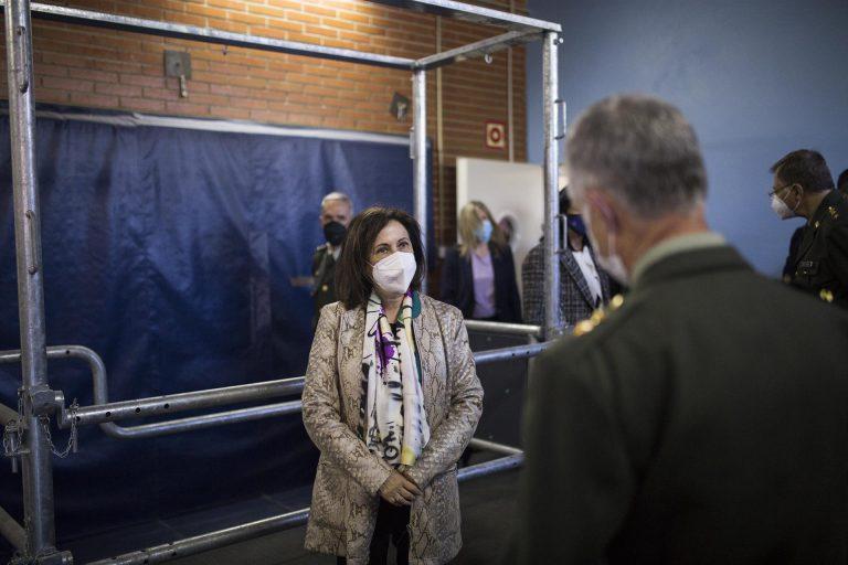 Robles aborda con el secretario de Defensa de EEUU la intensificación de los conflictos y del terrorismo en el Sahel