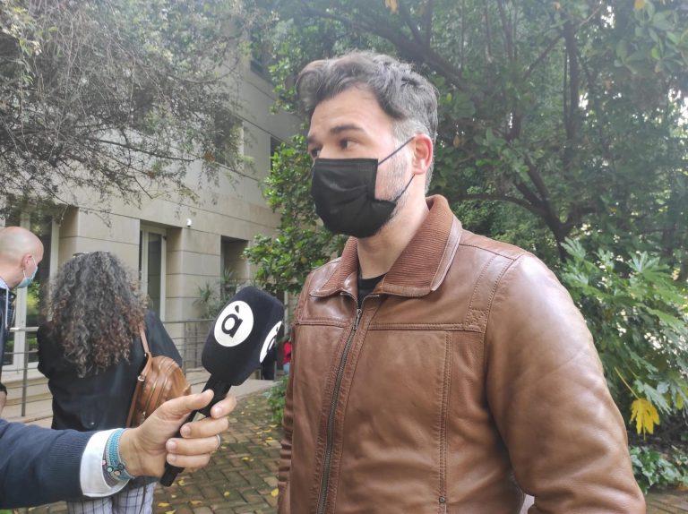 """Gabriel Rufián dice que es """"un orgullo cabrear nazis"""": """"He tenido trabajos peores"""""""