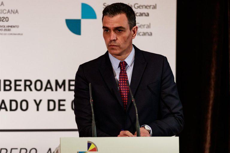 """Sánchez ensalza el """"periodismo valiente desde zonas de conflicto"""" tras el asesinato de dos reporteros"""