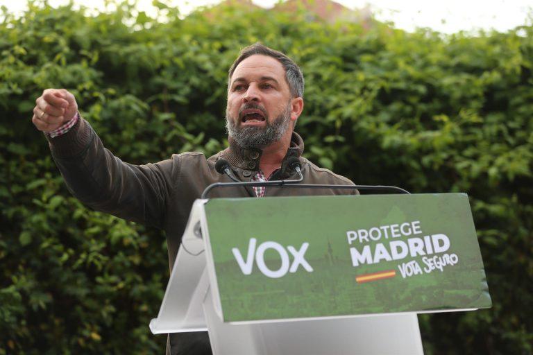 Abascal sigue cuestionando las amenazas a Iglesias y dice que la izquierda impide que se vote «en paz» desde el 11-M