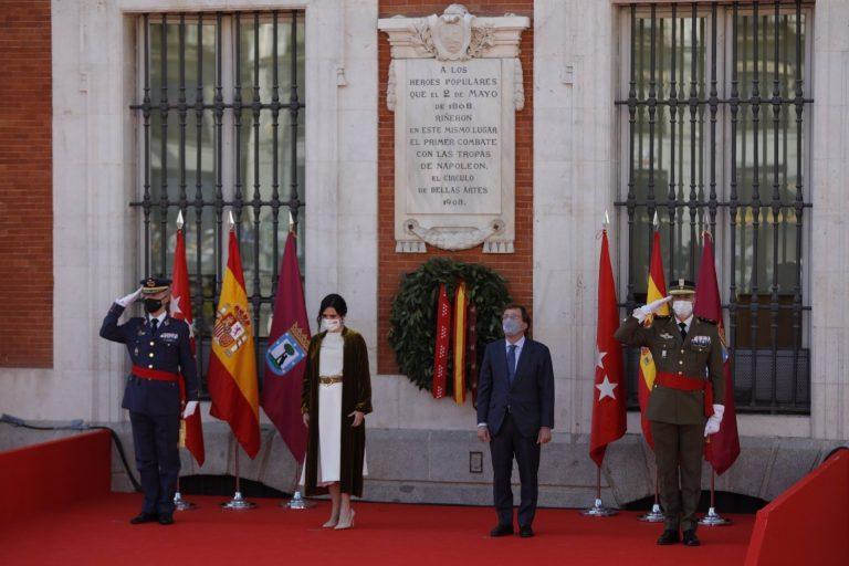 Madrid homenajea a los héroes del 2 de mayo con todos los candidatos presentes salvo Iglesias