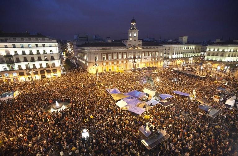 Aniversario del 15-M: 10 fotos históricas del movimiento y declaraciones actuales
