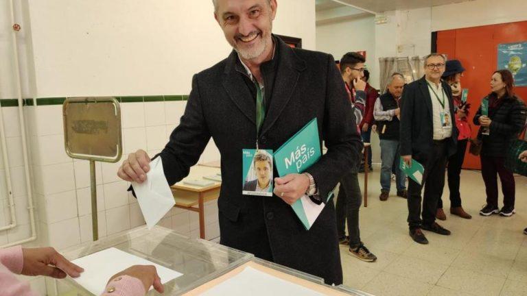 Óscar Urralburu (Más Región de Murcia), nuevo portavoz nacional de Más País junto con Esperanza Gómez (Más País Andalucía)