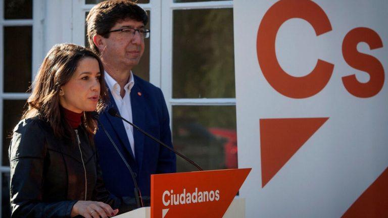 """Arrimadas se reúne este lunes en Sevilla con Cs Andalucía, en su ronda autonómica para """"el relanzamiento"""" del partido"""
