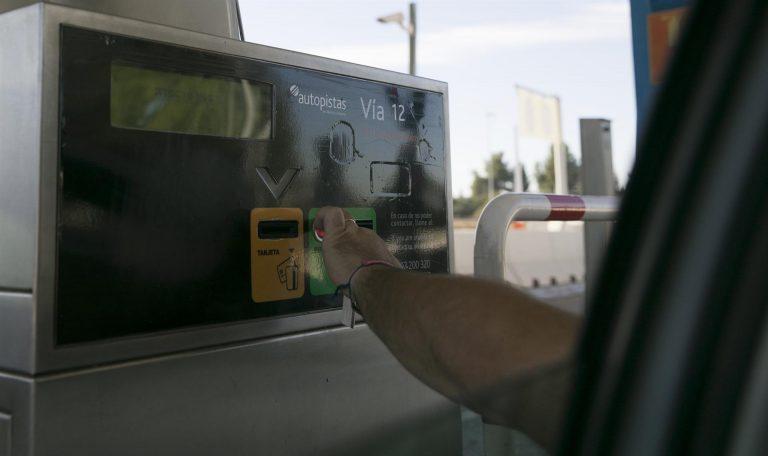 El Gobierno apunta a 2024 como el año en el que podrían instalarse peajes en las autovías