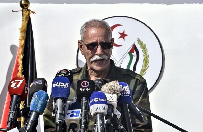 Ghali abandona España en un avión oficial argelino desde Pamplona
