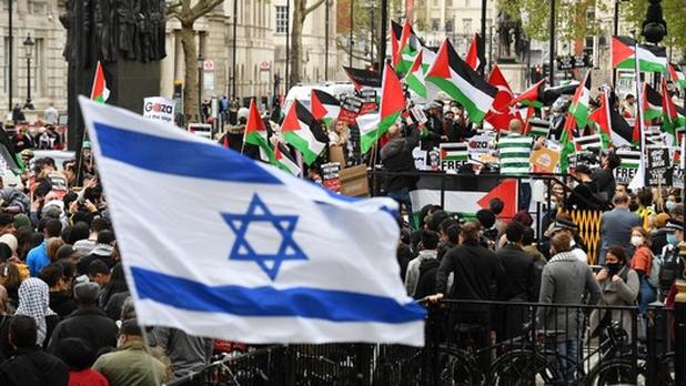 Netanyahu dice que Israel «usa toda su fuerza» ante «enemigos en el exterior y alborotadores en el interior»