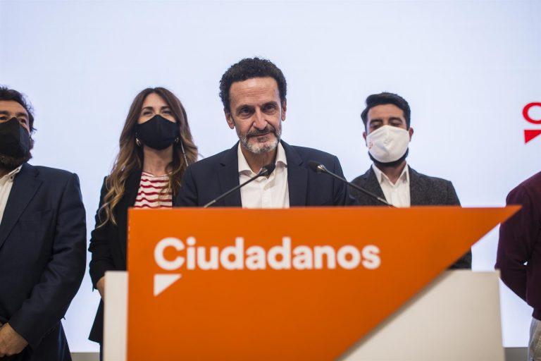 Ciudadanos elogia el papel de Bal en Madrid, pero se dispone a «reflexionar» sobre su futuro