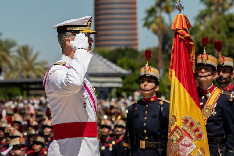 El Rey preside este sábado en Madrid un Día de las Fuerzas Armadas sin desfile por segundo año consecutivo