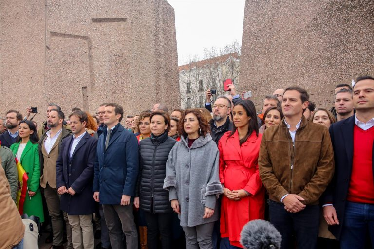 PP, Vox y Cs se unirán de nuevo en Colón contra Sánchez, aunque no aclaran si sus líderes repetirán la foto de 2019