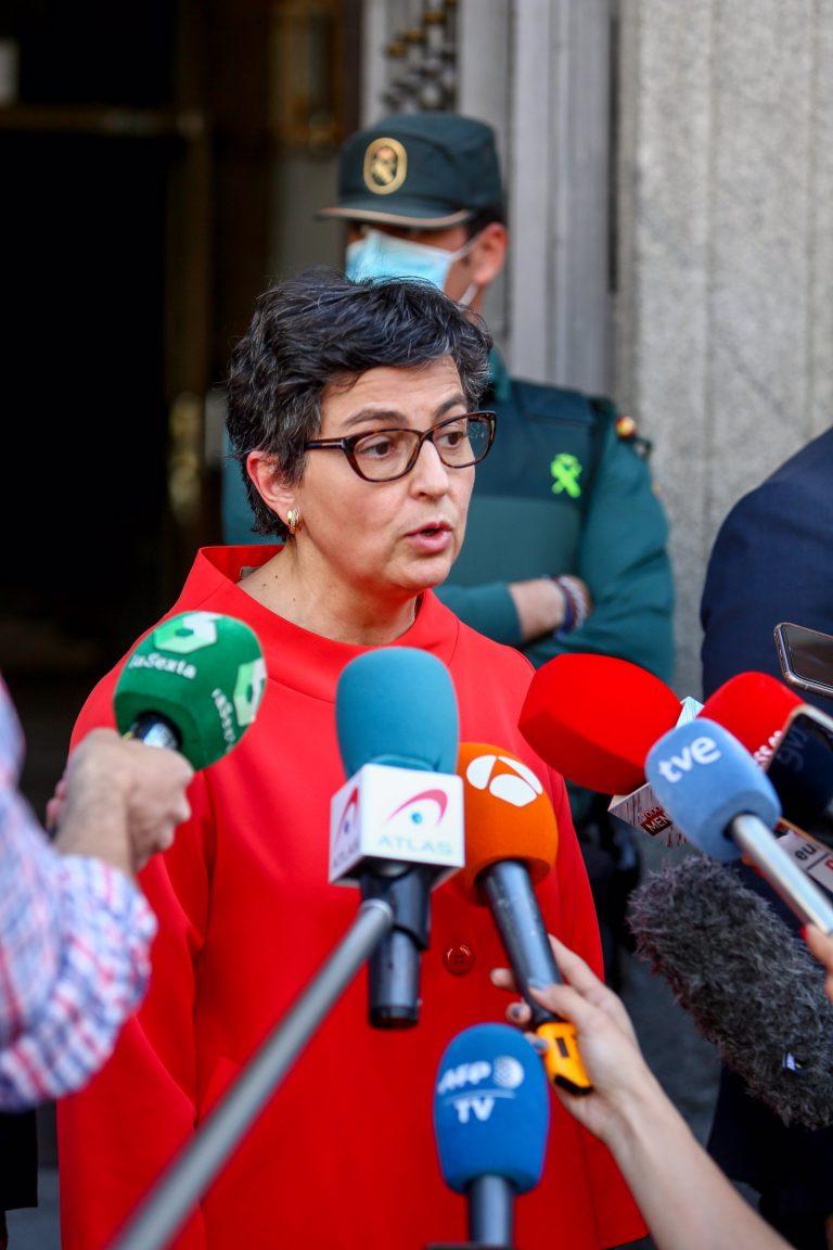 Laya defiende la asistencia humanitaria al líder del Polisario y dice que España no lo entendió como una «agresión»