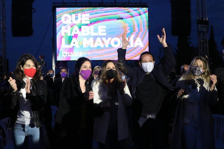 Unidas Podemos ensalza la figura de Pablo Iglesias y se prepara para el liderazgo de Yolanda Díaz