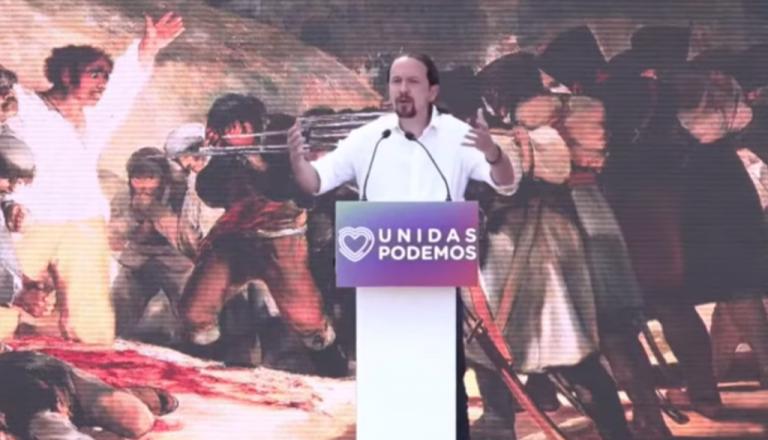 Iglesias dice que Ayuso ha convertido el acto del 2 de mayo en «mitin de campaña»