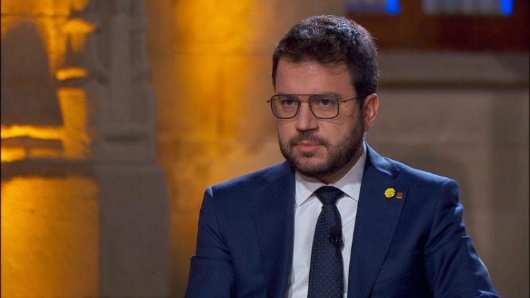Aragonès se da dos años para convencer a Sánchez del referéndum