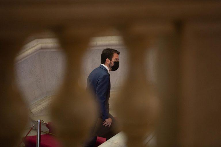 Jueves y viernes, calendario de la investidura de Aragonès