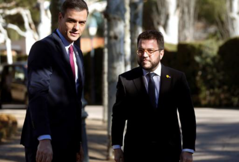 Aragonès critica la Conferencia de Presidentes y dice que los fondos no se deciden en «5 minutos»
