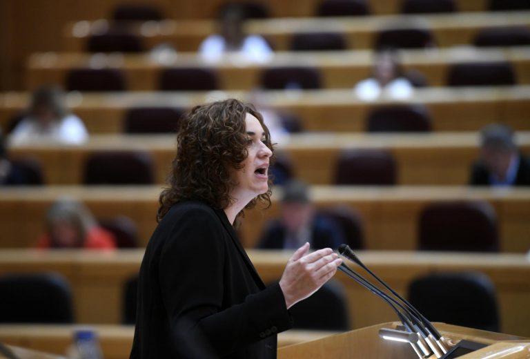 Unidas Podemos se queda sin representación en el Senado tras la despedida de su única parlamentaria