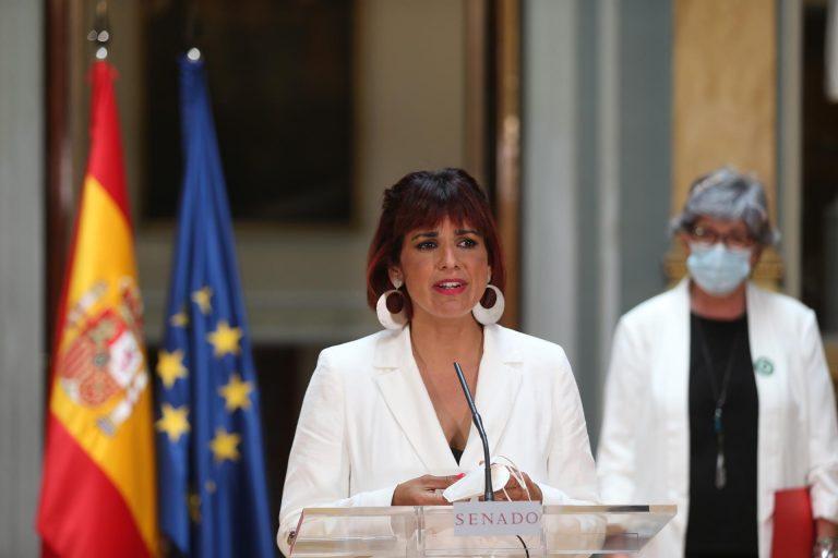 """Teresa Rodríguez exige aclarar si hay devoluciones en caliente en Ceuta y tilda a Vox de """"cobarde"""" en esta crisis"""