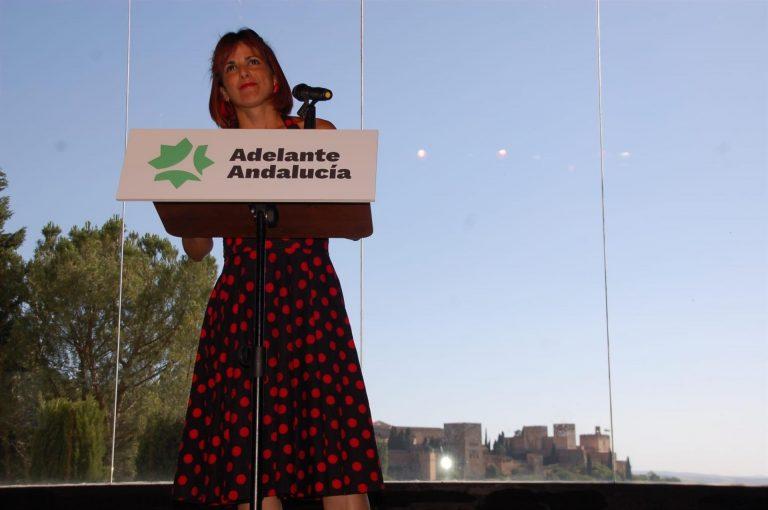 Teresa Rodríguez, elegida portavoz de Adelante Andalucía con 97% de apoyos