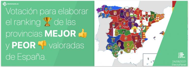 EP – Vota: Ranking de las mejores y peores provincias de España