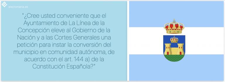 El Ayuntamiento de La Línea (Cádiz) llevará a Pleno celebrar una consulta popular para convertirse en Ciudad Autónoma