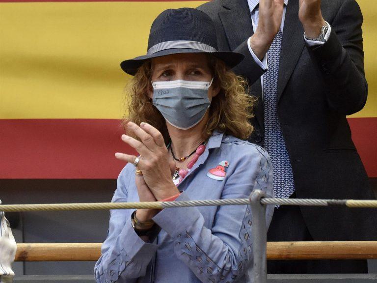 La Infanta Elena volverá a presidir un acto en representación del Rey el próximo martes