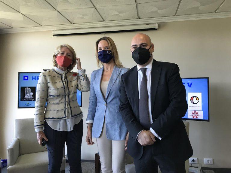 Esperanza Aguirre ve los indultos a los presos del 'procés' como «un primer paso» para un referéndum
