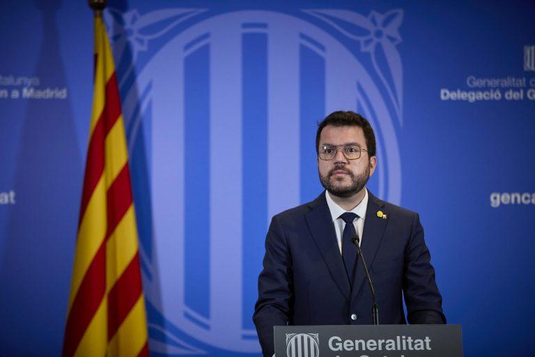 Aragonès no acudirá a la Conferencia de Presidentes Autonómicos