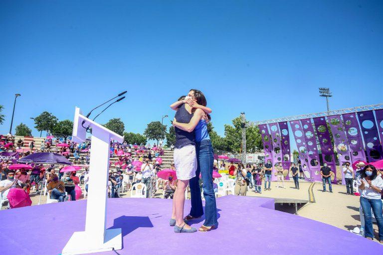 Ione Belarra se convierte en nueva secretaria general de Podemos con el 88,69% del voto de los inscritos