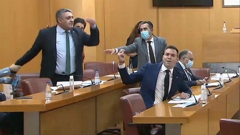 """Asamblea de Ceuta debatirá declarar a Abascal """"persona non grata"""" por ver """"quintacolumnistas"""" marroquíes en la ciudad"""