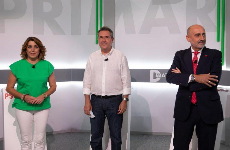 Susana Díaz defiende un PSOE-A no dirigido desde Madrid y Espadas pide orientar la política de Ferraz y no confrontar