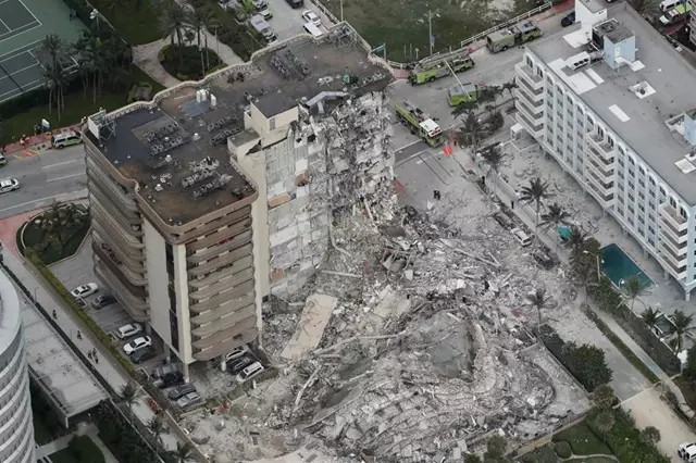 EEUU: Al menos un muerto y más de 50 desaparecidos tras el derrumbe de un edificio de apartamentos en Miami